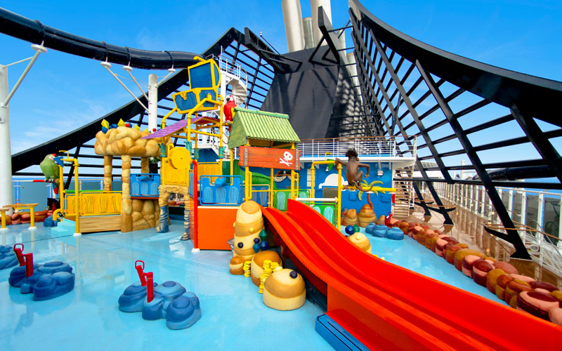 MSC Cruises MSC Prezoisa Kids Pool waterslide