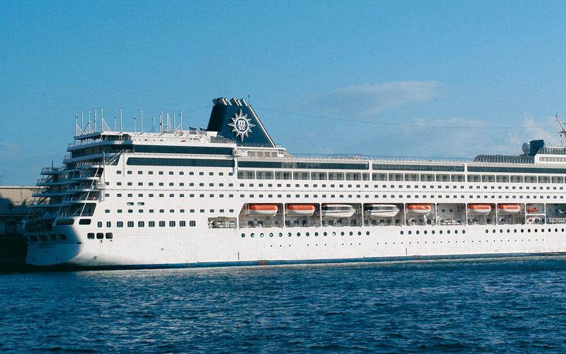 MSC Cruises MSC Sinfonia exterior