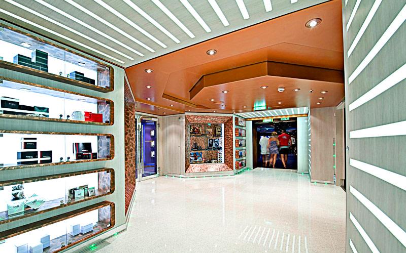 MSC Cruises MSC Splendida shopping