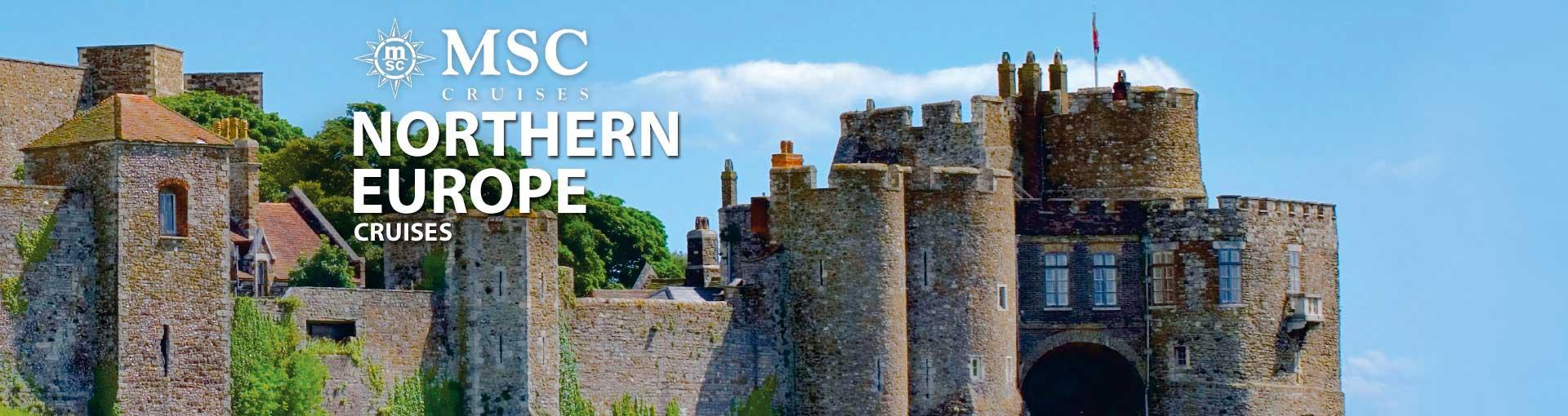 MSC Cruises Northern Europe Cruises