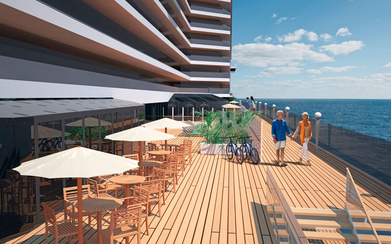 MSC Seaside Promenade