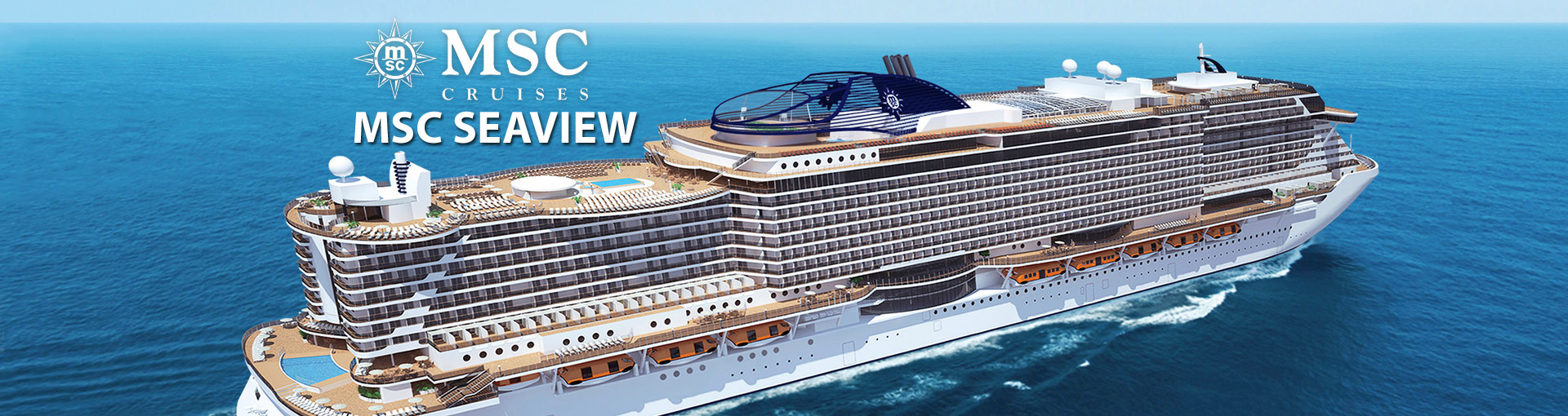 MSC Cruises Seaview Cruise Ship