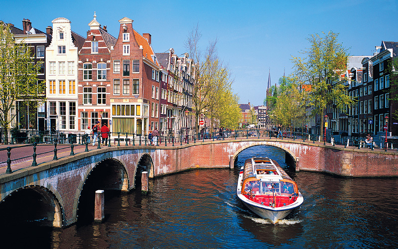 Canal in Amsterdam MSC Cruises Northern Europe