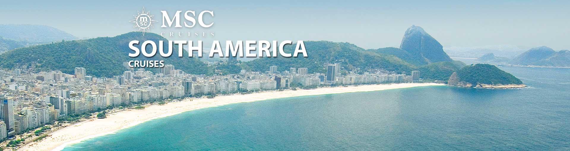 MSC Cruises South America Cruises