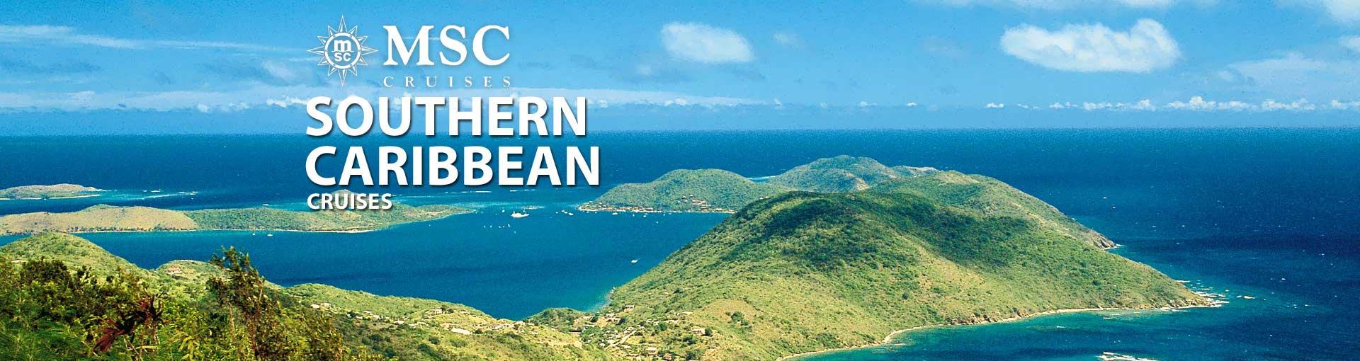 MSC Cruises Southern Caribbean Cruises