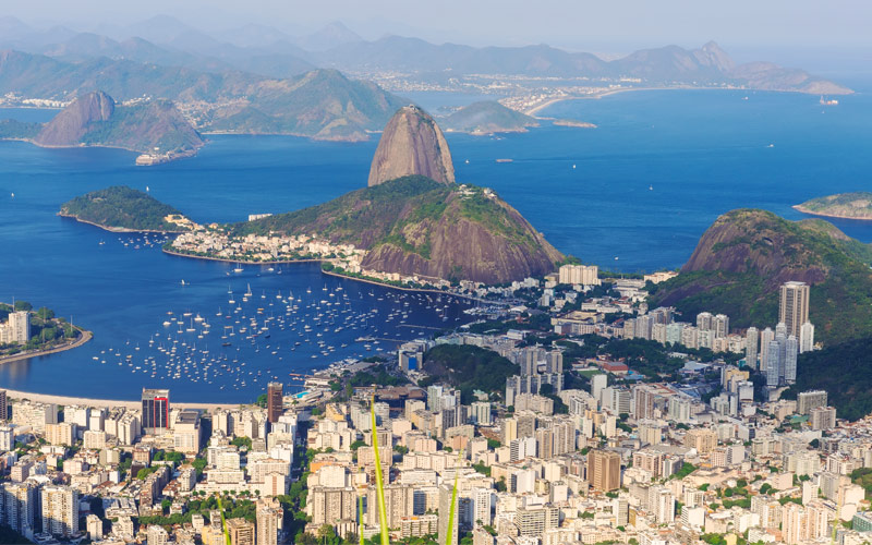 Sugar Loaf Mountain in Rio de Janeiro MSC Cruises
