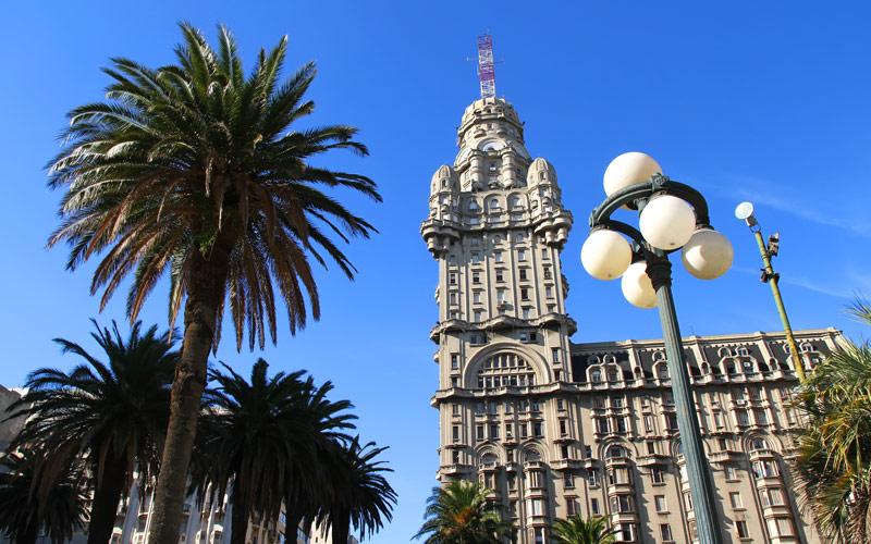 Palacio Salvo in Montevideo, Uruguay MSC Cruises