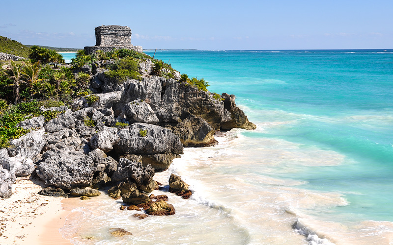 Tulum Mayan Ruins in Mexico MSC Cruises Caribbean