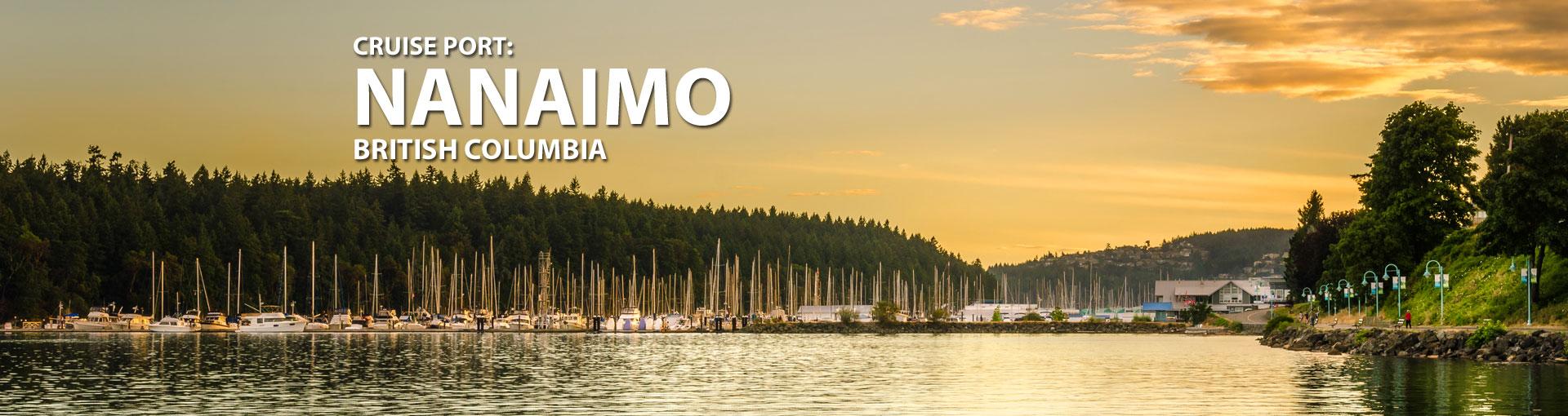 Cruises to Nanaimo British Columbia