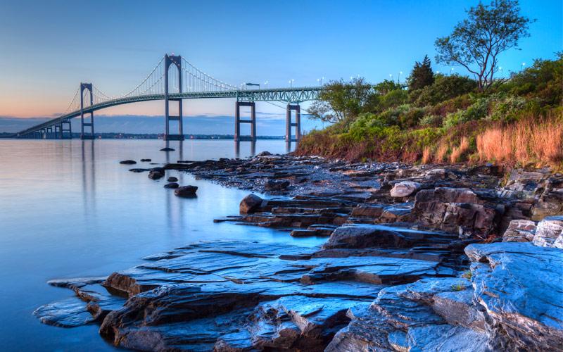 Newport Bridge from Taylor