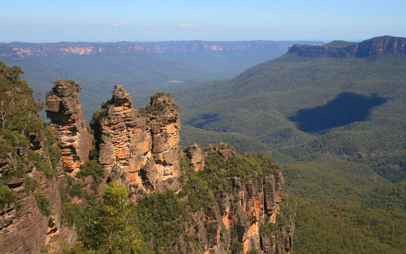 Norwegian Blue Mountains in Australia