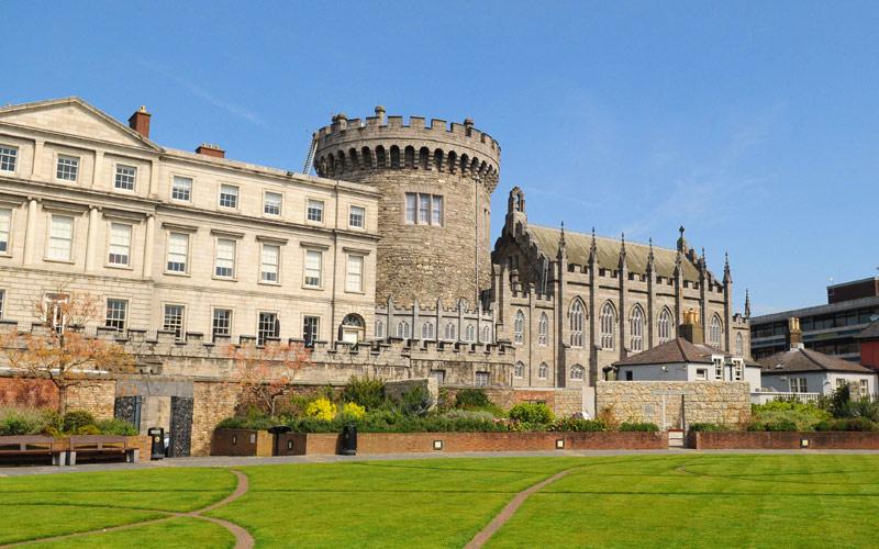 Dublin Castle in Dublin, Ireland Norwegian Cruise