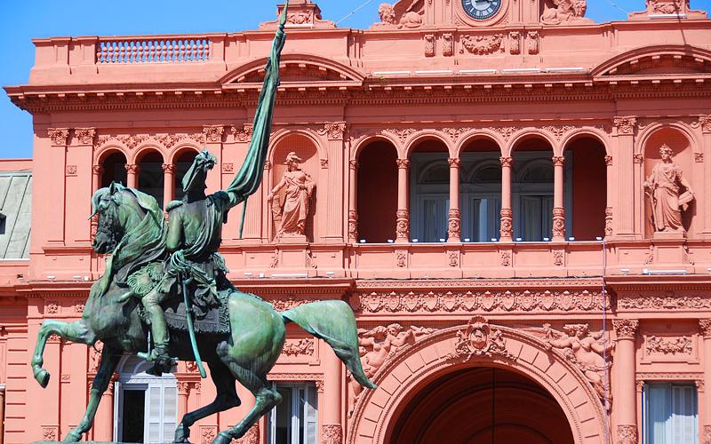 Belgrano Monument Buenos Aires Norwegian Cruise