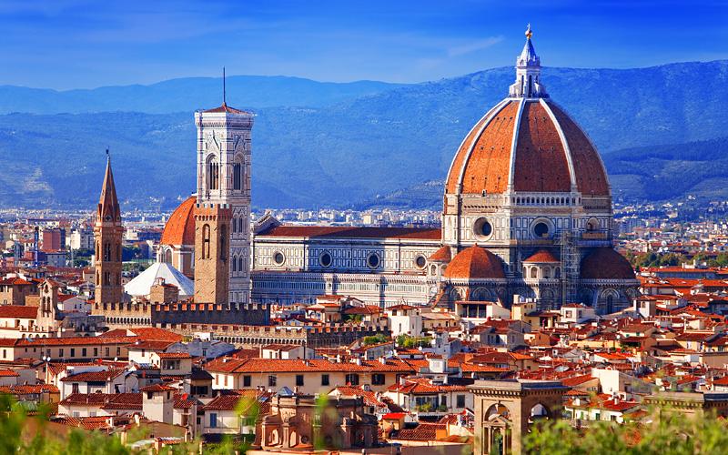 Nowegian Europe Cruisetours Florence, Italy