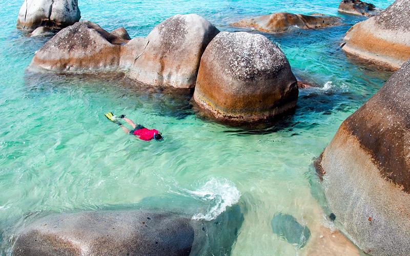 The Baths, Virgin Gorda Caribbean Norwegian Cruise