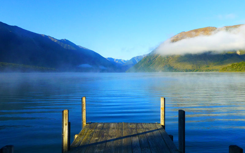 Norwegian Lake Rotoiti in New Zealand
