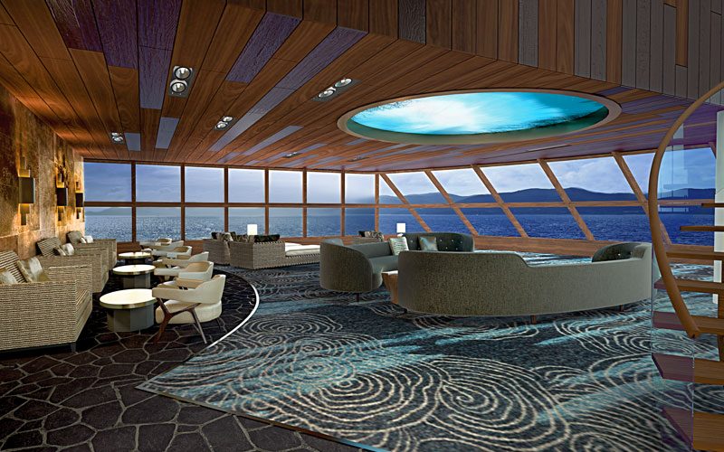 Haven Observation Lounge on Norwegian Bliss