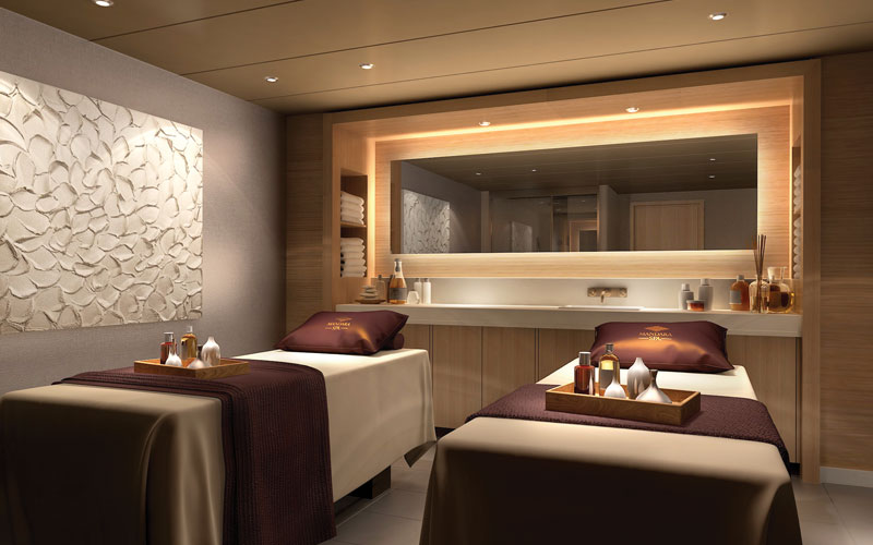 Norwegian Bliss Spa Treatment Room