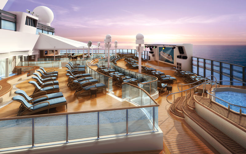 Norwegian Bliss Spice Pool Deck