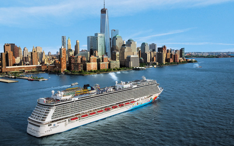 Norwegian Cruise Line Breakaway exterior