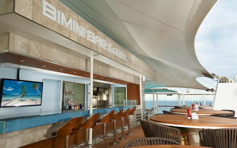 Bimini Bar aboard Norwegian Dawn