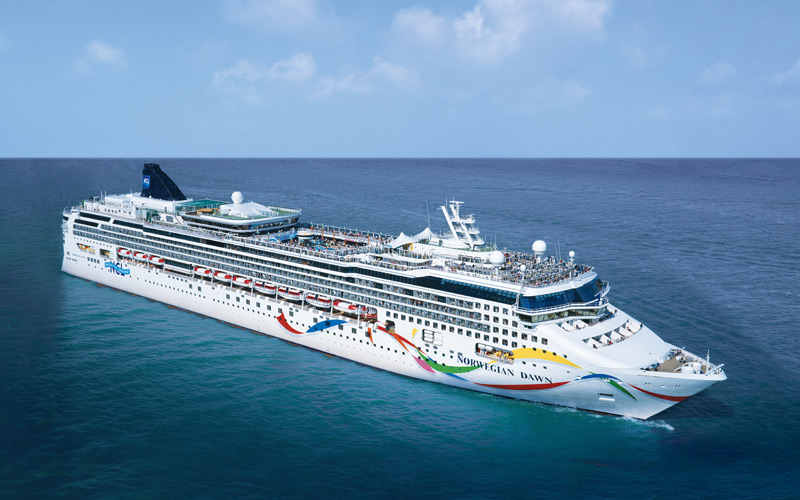 Norwegian Cruise Line Dawn exterior
