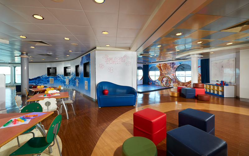 Splash Academy aboard Norwegian Dawn