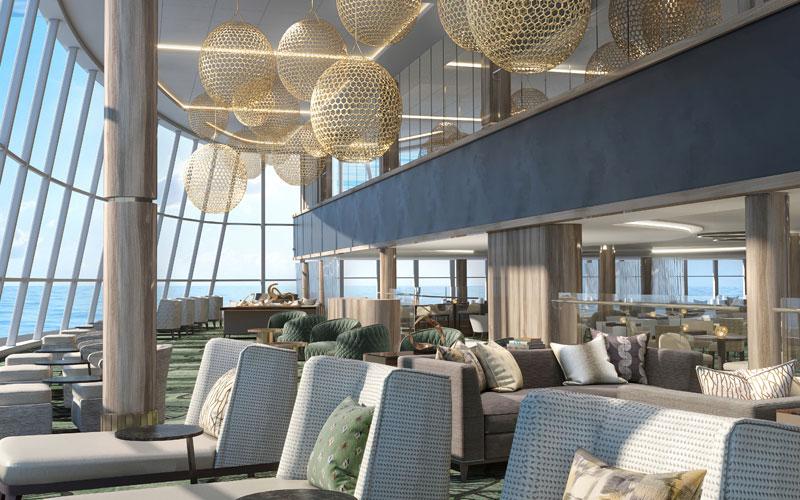 Observation Lounge Onboard Norwegian Encore