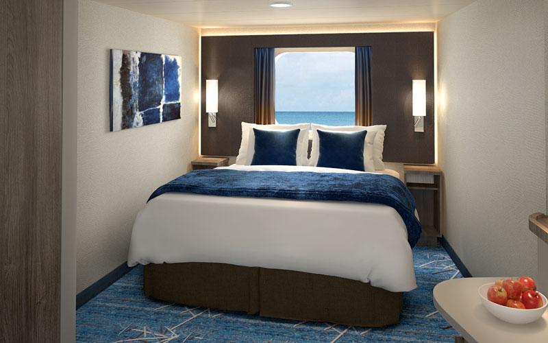 Oceanview Stateroom Onboard Norwegian Encore