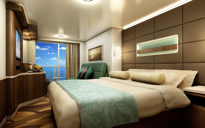Norwegian Cruise Line Escape spa balcony