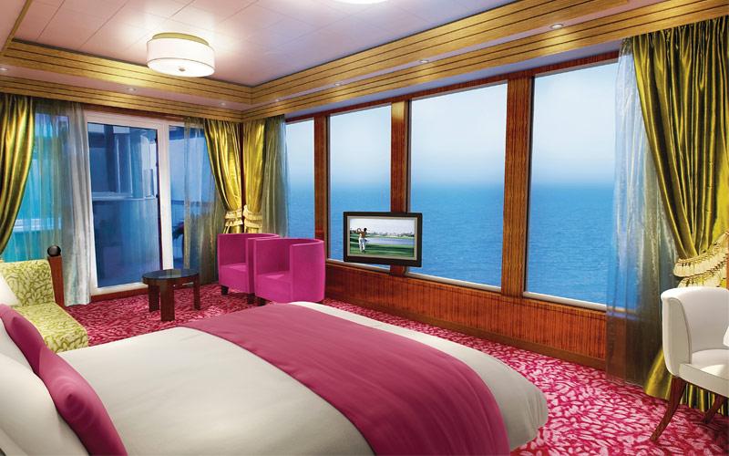 Norwegian Cruise Line Gem Garden Villa