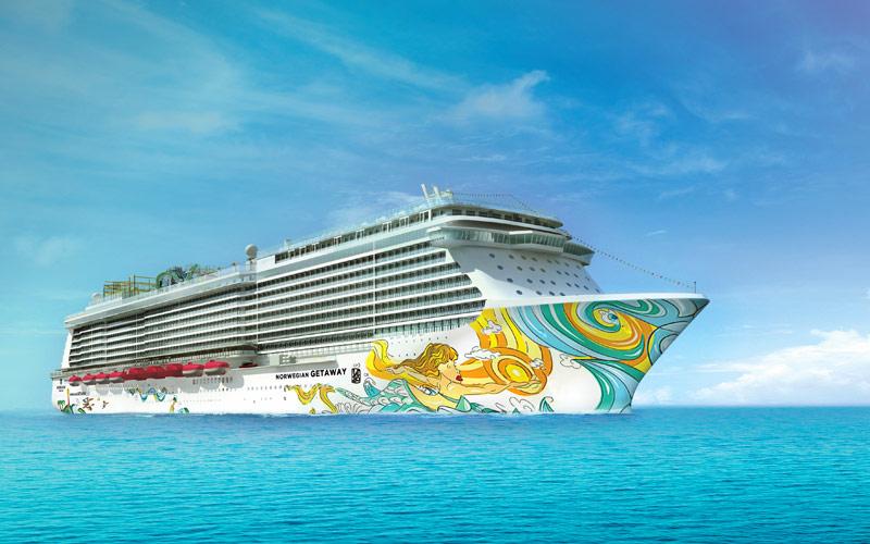 Norwegian Cruise Line Getaway exterior