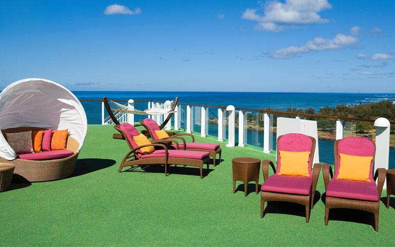 Norwegian Cruise Line Jade Public Sun Deck
