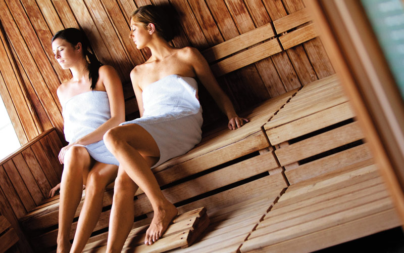 Norwegian Cruise Line Jewel Spa sauna