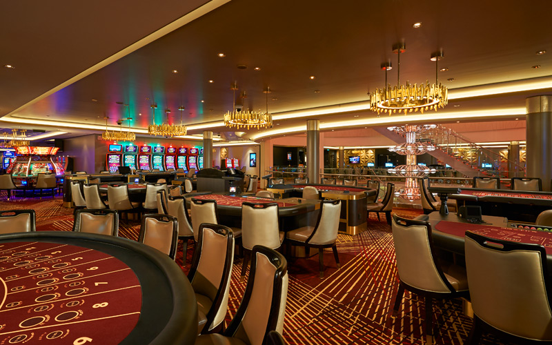 Casino aboard Norwegian Joy