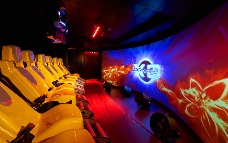 XD Theater aboard Norwegian Joy