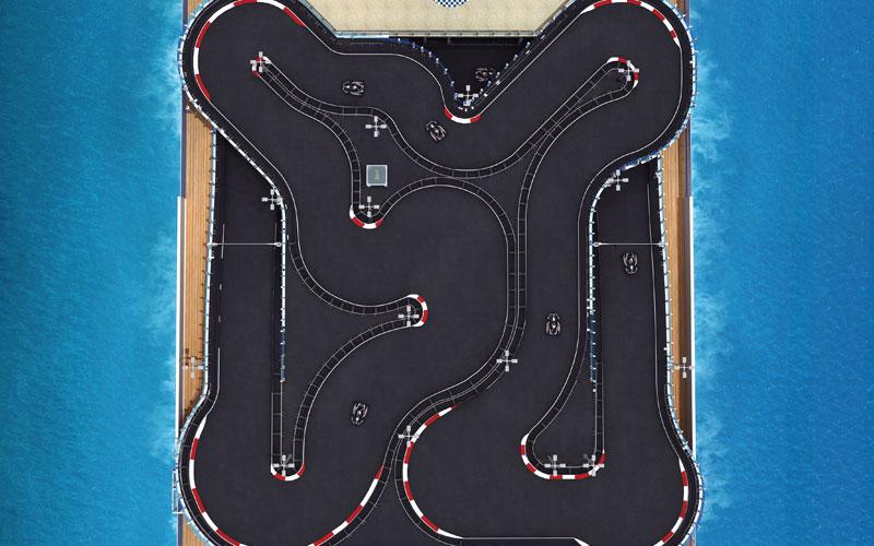 Go-Kart Race Track on the Bliss