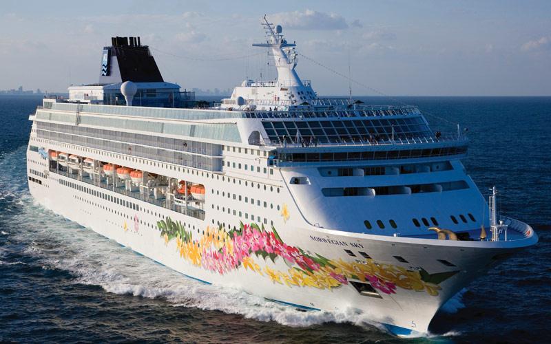 Norwegian Cruise Line Sky exterior