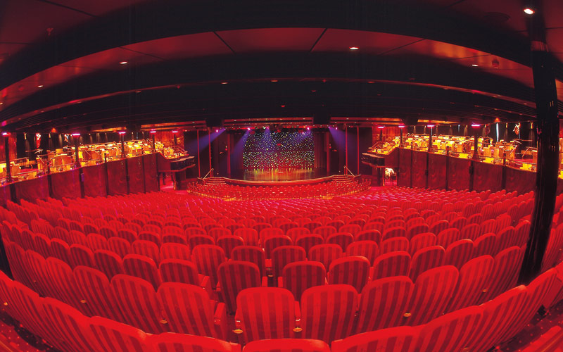 Norwegian Cruise Line Spirit public theater