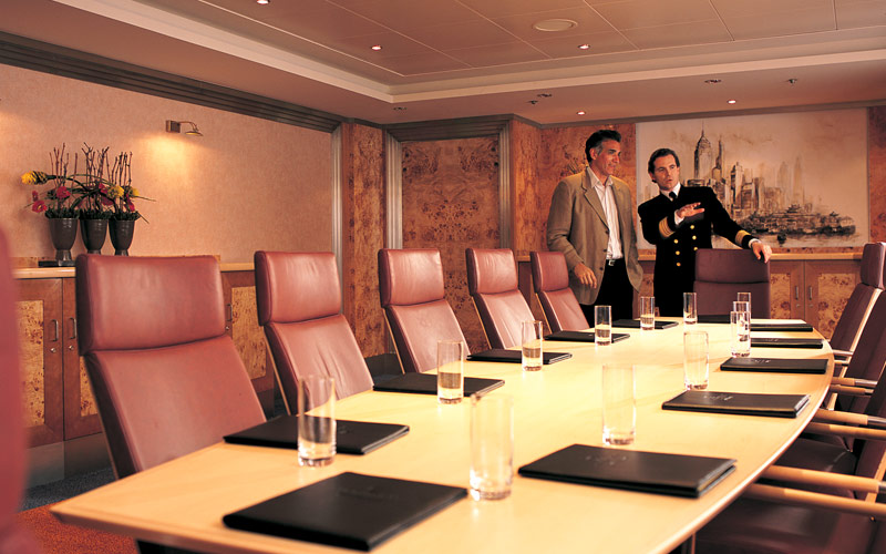 Norwegian Cruise Line Star boardroom