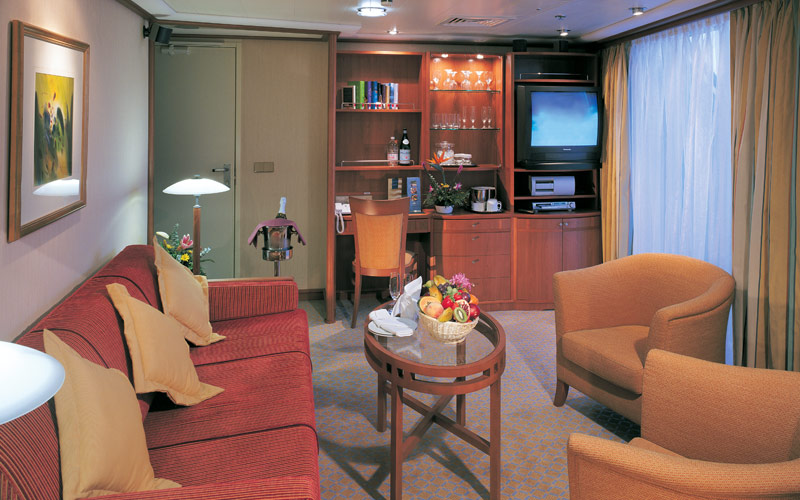 Norwegian Cruise Line Sun penthouse stateroom