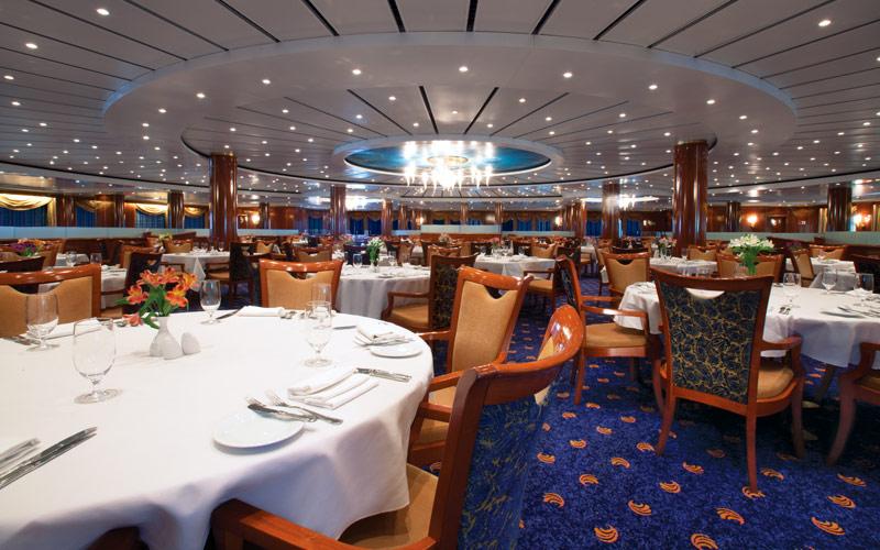 Norwegian Cruise Line Sun Seven Seas Restaurant