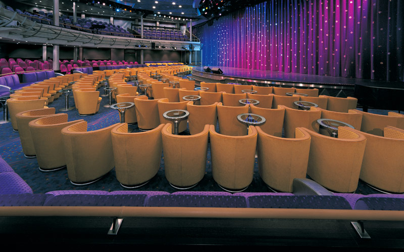 Norwegian Cruise Line Sun Stardust Theater