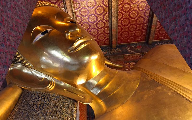 Reclining Buddha in Bangkok