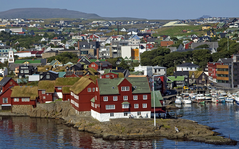 Thorshavn, Faroe Islands Transatlantic Norwegian