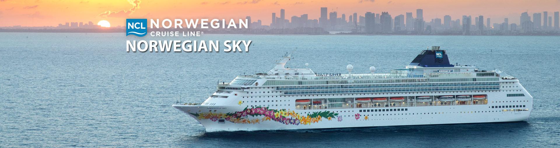 Norwegian Sky Cruise Ship Banner