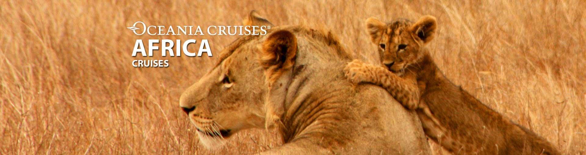 Oceania Cruises Africa cruises