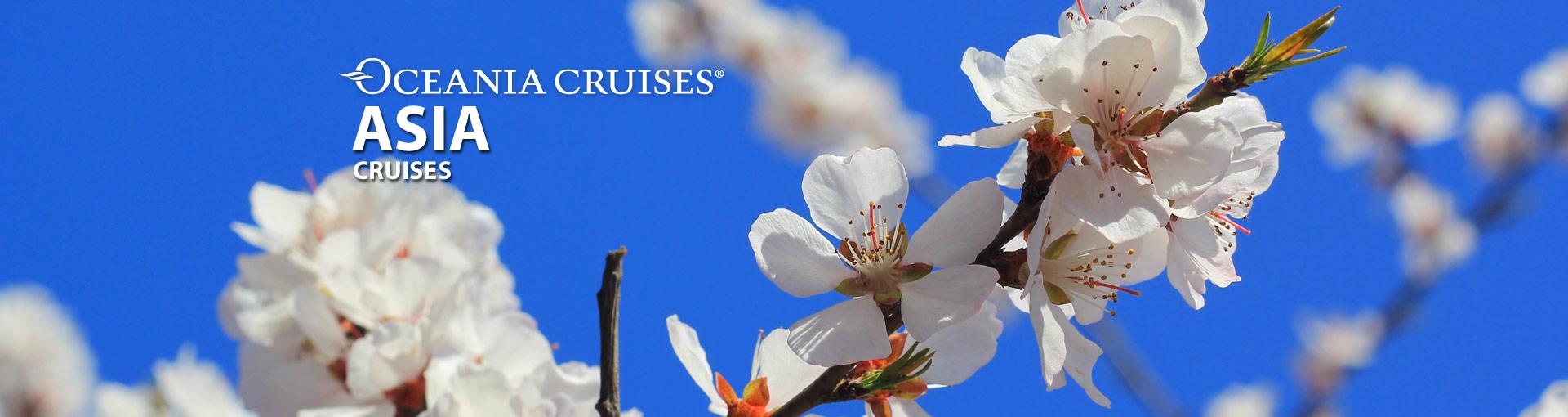 Oceania Cruises Asia Cruises