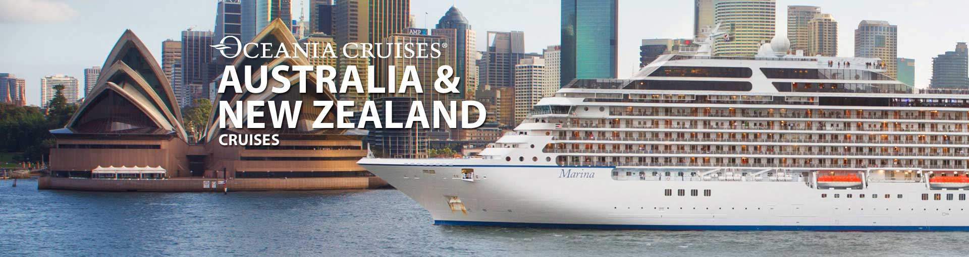 Oceania Cruises Australia New Zealand cruises