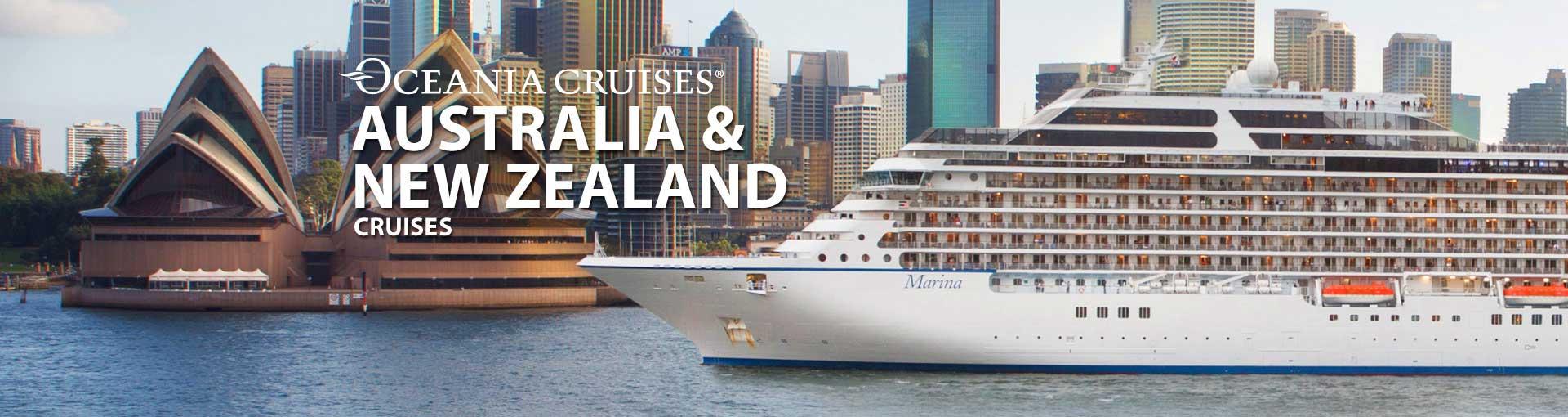 Oceania Australia Cruises And New Zealand Oceania - Cruises to new zealand